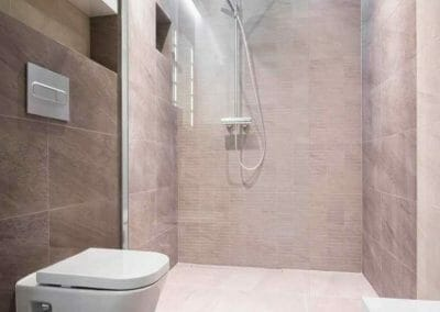 GB ELECTRICAL AND BUILDING SERVICES MODERN WET ROOM