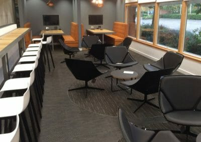 GB ELECTRICAL AND BUILDING SERVICES SEATING & COMMUNICAL SPACES