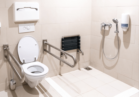GB Electrical & Building Services Adapted Bathroom
