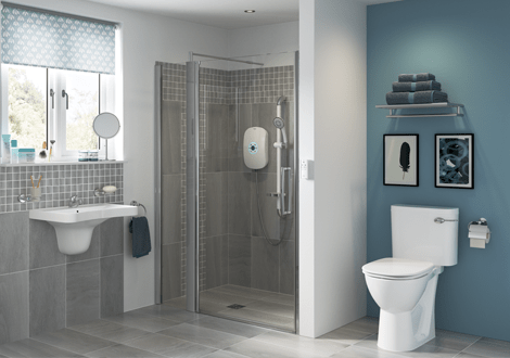 Modern Adapted Bathrooms GB Electrical & Building Services Hereford
