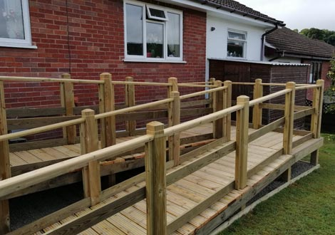 GB Electrical & Building Services Bespoke Disabled Access Ramp