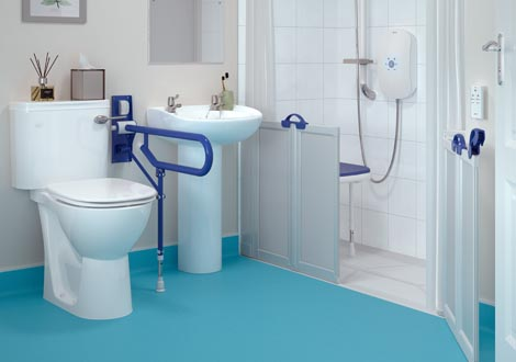 GB Home Adaptations Disabled Wet Room
