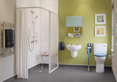 GB Home Adaptations Modern Wet Room