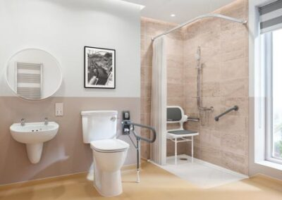 GB Home Adaptations Stylish Wet Room