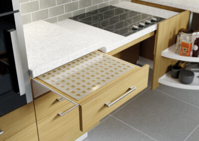 Disabled Kitchen Wheelchair Accessible Counter Top Access Adaptation