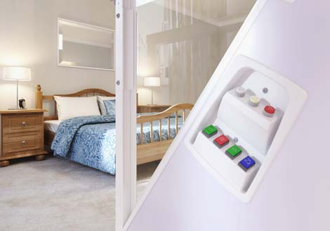 Wessex Through Floor Lifts Control Detail | GB Electrical & Building Services