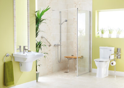 Wetroom Bathroom Project Example