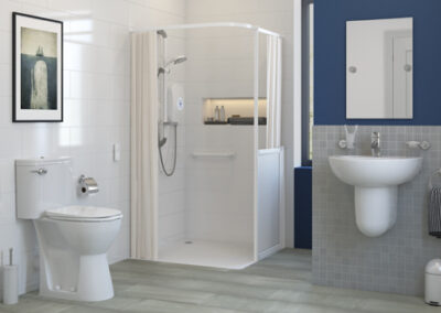 Wetroom Shower Installation Project Example