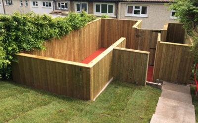 Garden made accessible & safe