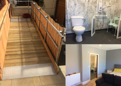 JT4148 Ensuite Wet Room & Access Ramp Home Adaptations
