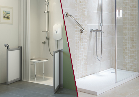 Walk-in Showers vs. Wetrooms