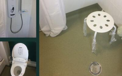 Worry-free bathroom adaptations