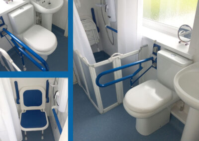 JT4112 Mrs J. Powys Wetroom Bathroom Adaptation