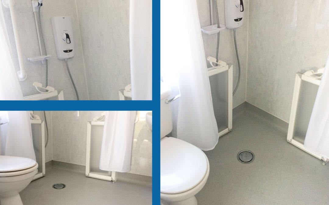 JT4138 Mr P. Powys Wetroom Bathroom Adaptation
