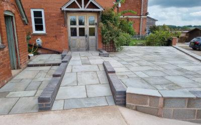 Wheelchair accessible garden & driveway